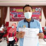 Berinteraksi Dengan Warga Binaan, Pegawai Lapas Rangkasbitung Divaksinasi Covid-19