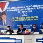 """Alawi Mahmud """"Digadang-Gadang"""" Jadi Ketua Formatur DPD PAN Kota Cilegon"""