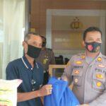 Forum Wartawan Serang Barat Terima Bantuan Paket Sembako