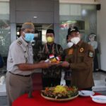 Wagub Andika Hazrumy Pimpin Upacara Terbatas Hantaru di Kanwil BPN Banten